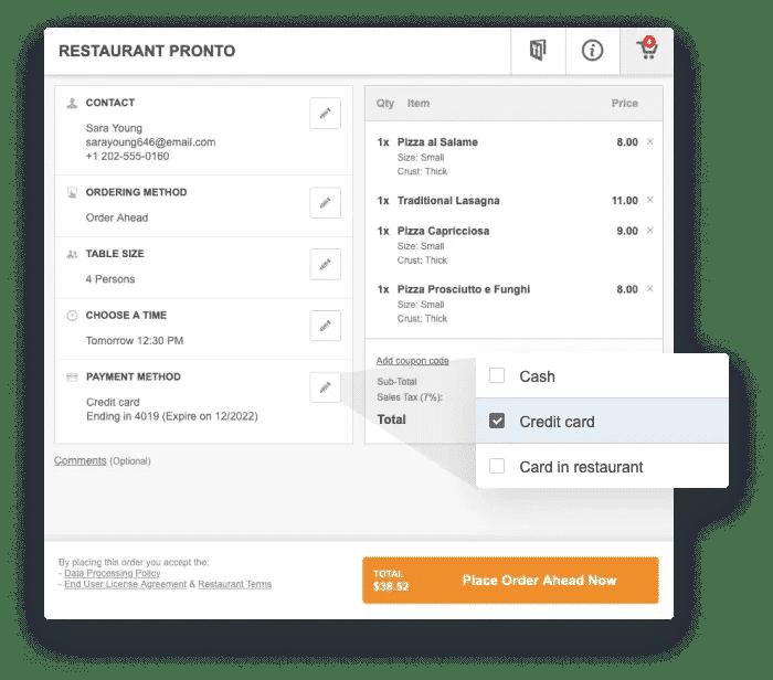 Kostenlose Restaurant Buchungs Software