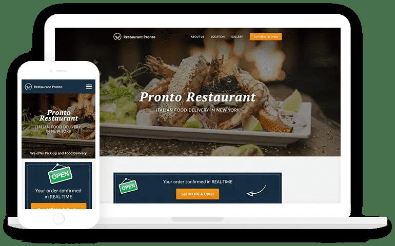 Restaurant Website Generator
