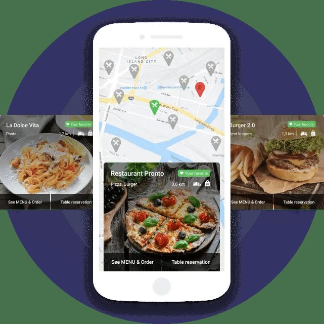 Restaurant Bestell App Für Kunden