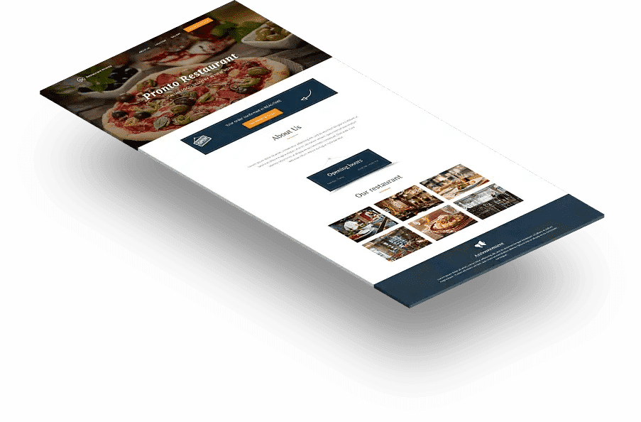 Restaurant Website Generator